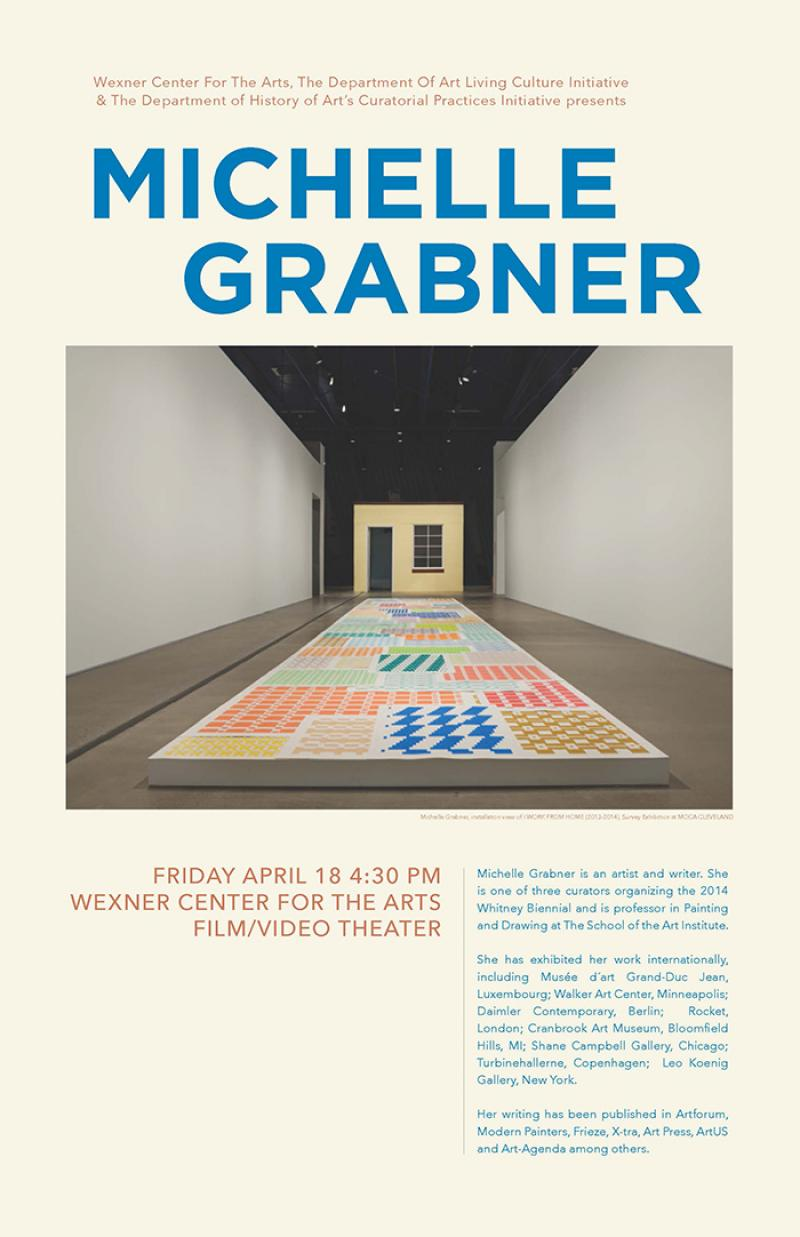 Michelle Grabner Curatorial Talk